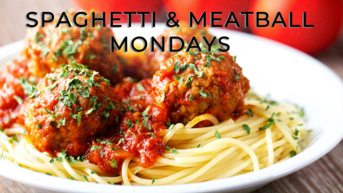Stefano's Spaghetti And Meatball Mondays