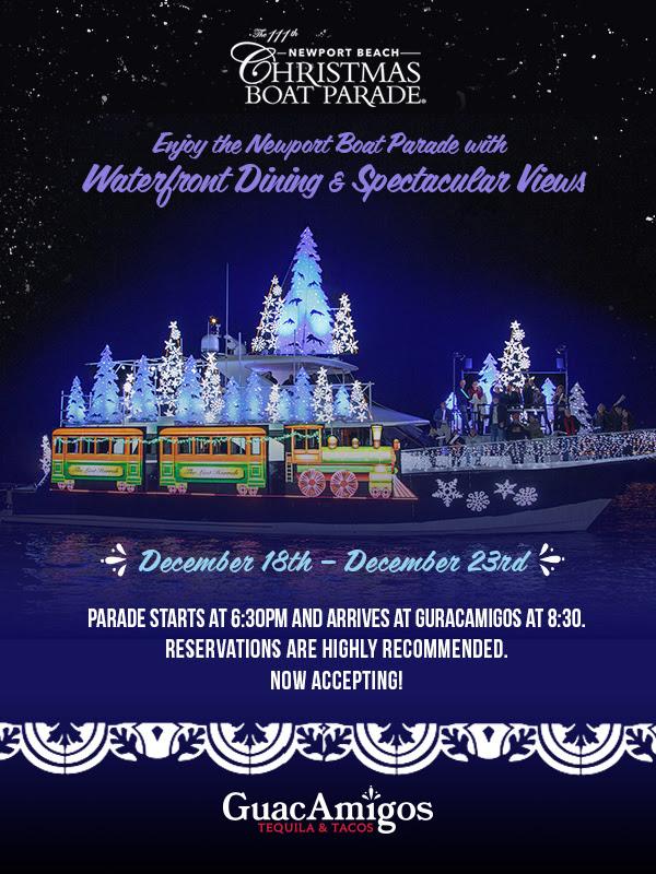 Guacamigos Christmas Boat Parade 2019