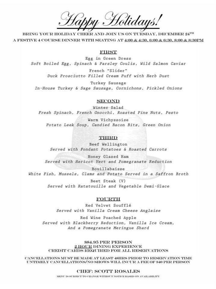 Christmas Eve At The Cellar Fullerton