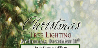 Arroyo Trabuco Golf Club Christmas Tree Lightning