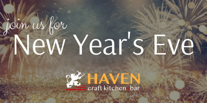 Haven Craft Kithcn Bar New Years Eve