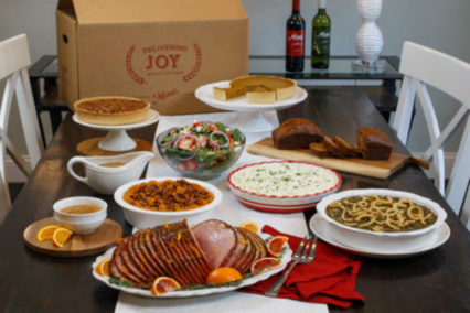 Say Bonjour to the Holidays with Take-Home-Feasts & Catering @ Mimi's Cafe