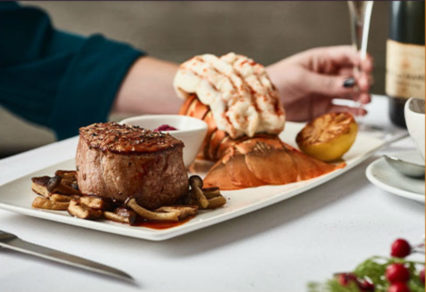 The Most Wonderful Three-Course of the Year @ Flemings Prime Steakhouse - Newport Beach