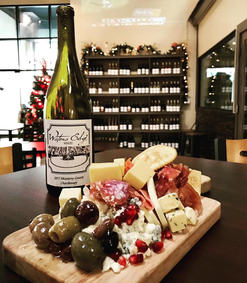 Waters Edge Winery Charcuterie