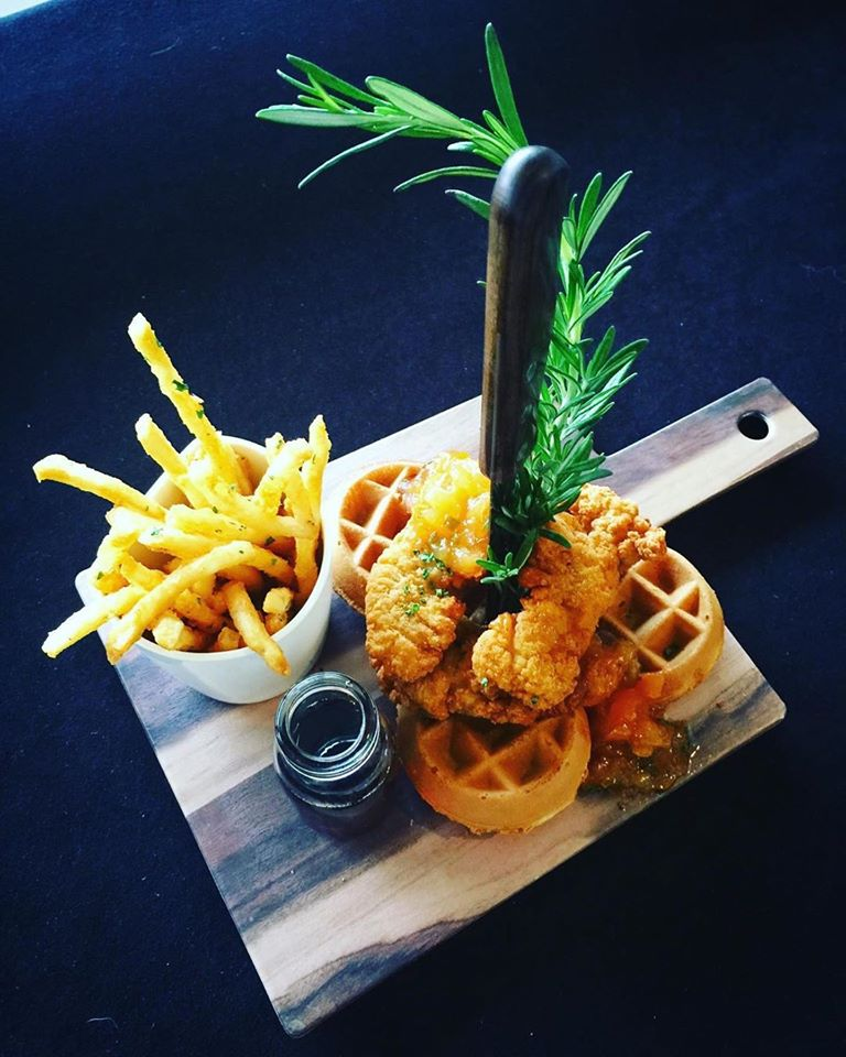 Current Coastal Cuisine Chicken And Waffles