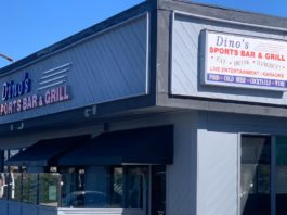 Dino's Sports Bar & Grill Exterior