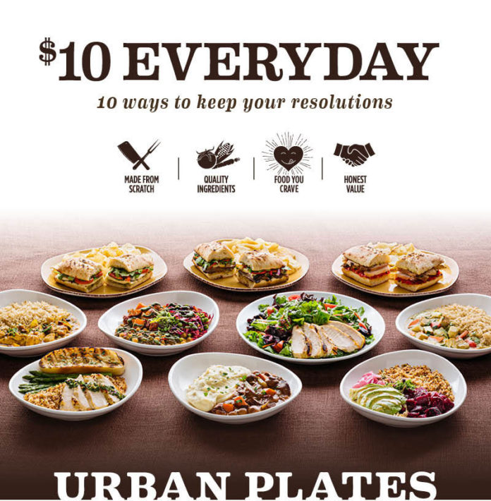 Urban Plates Everyday Menu