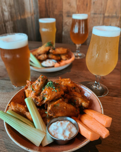 """Supper"" Bowl Sunday enjoy $10 Wings and Craft Beer @ Eureka! - Huntington Beach"