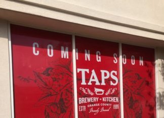 Taps Brewery Kitchen Coming Soon