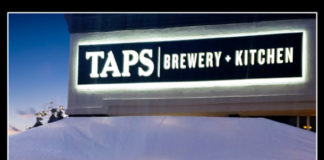 TAPS Brewery And Kitchen Patio