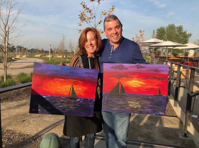 Mess Hall Market's Paint And Sip Sunday