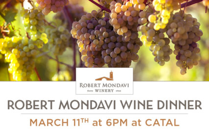 A Very Special Evening with Wines @ Catal Restaurant & Uva Bar - Anaheim