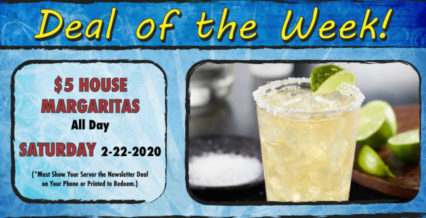 Celebrate with $5 House Margaritas @ Hangout Restaurant & Beach Bar (The) - Seal Beach | Seal Beach | California | United States