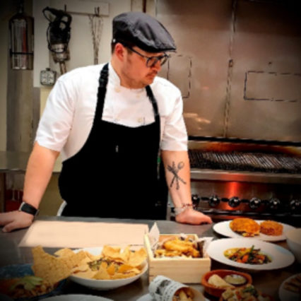 Executive Chef Aaron Obregon