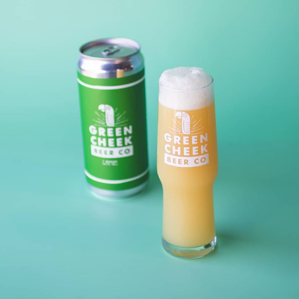 Green Cheek The Other Brian Hazy Dipa