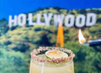 Once In Hollywood Smokin Hot Margarita