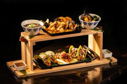 Taco Rosa SEAFOOD TABLITA FOR FOUR