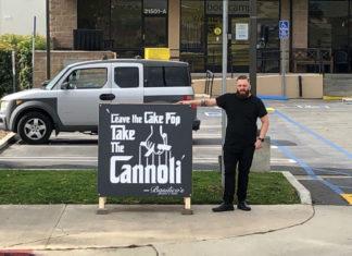 Tony Roman Starbucks Sign