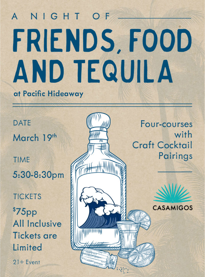 Pacific Hideaway Friends Food And Tequila