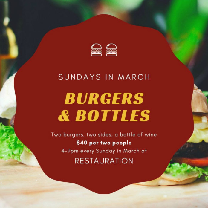 Restauration Burgers And Bottles