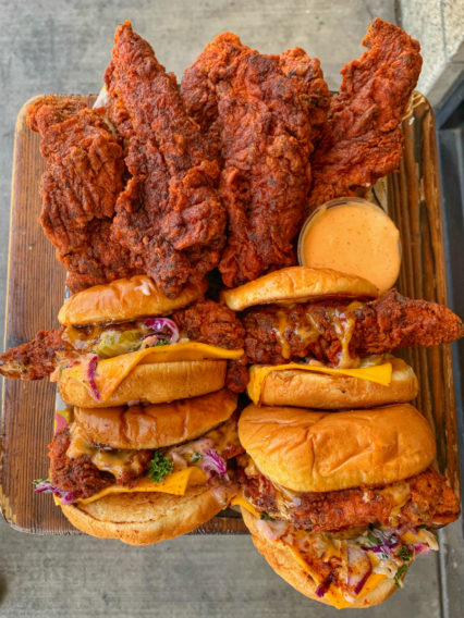Daves Hot Chicken Sandwiches And Strips