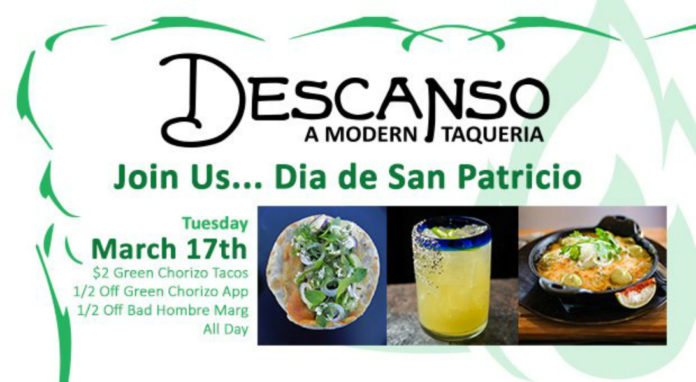 Descanso St Pattys Day