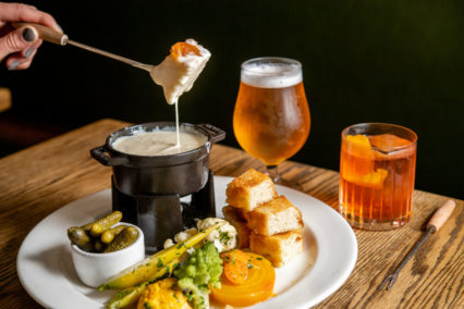 Tuesday Fondue Night @ Side Door at Five Crowns - Corona del Mar