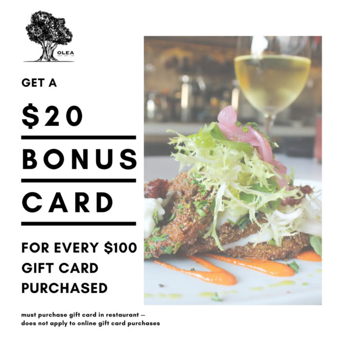 Olea Gift Cards