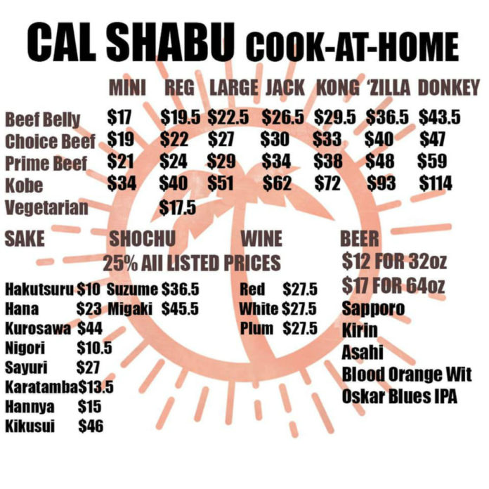 Cal Shabu Sets