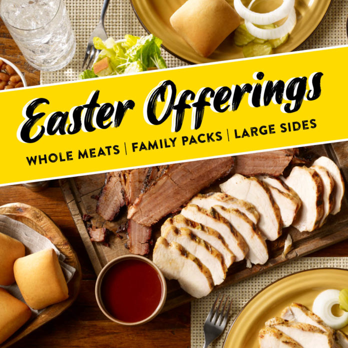 Dickey's Easter Offerings