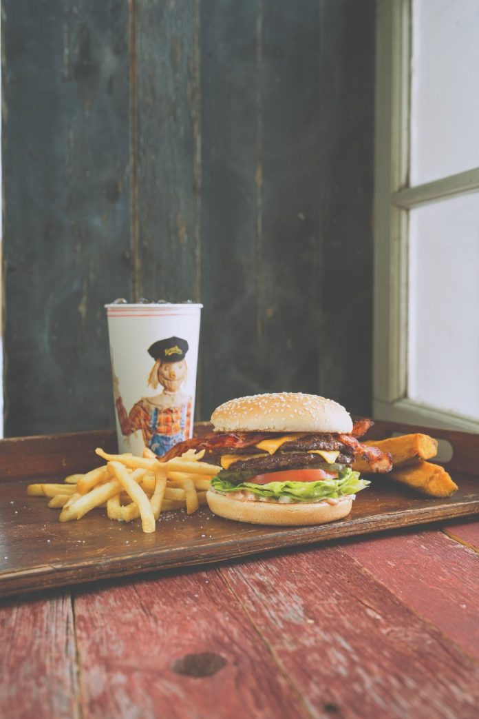 Farmer Boys Bacon Boy Burger Combo 001