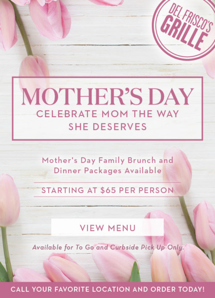 Del Friscos Mothers Day