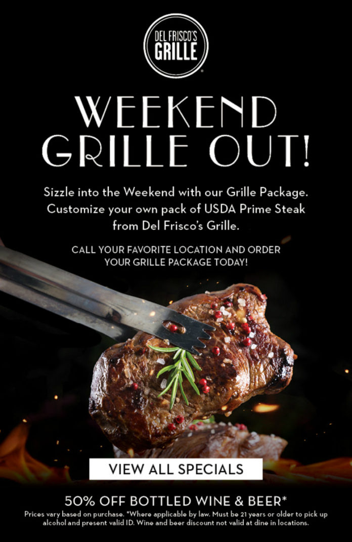Del Friscos Grille Package