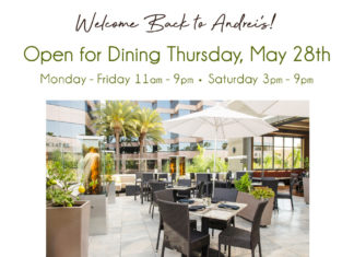 Andrei's Open For Dine In