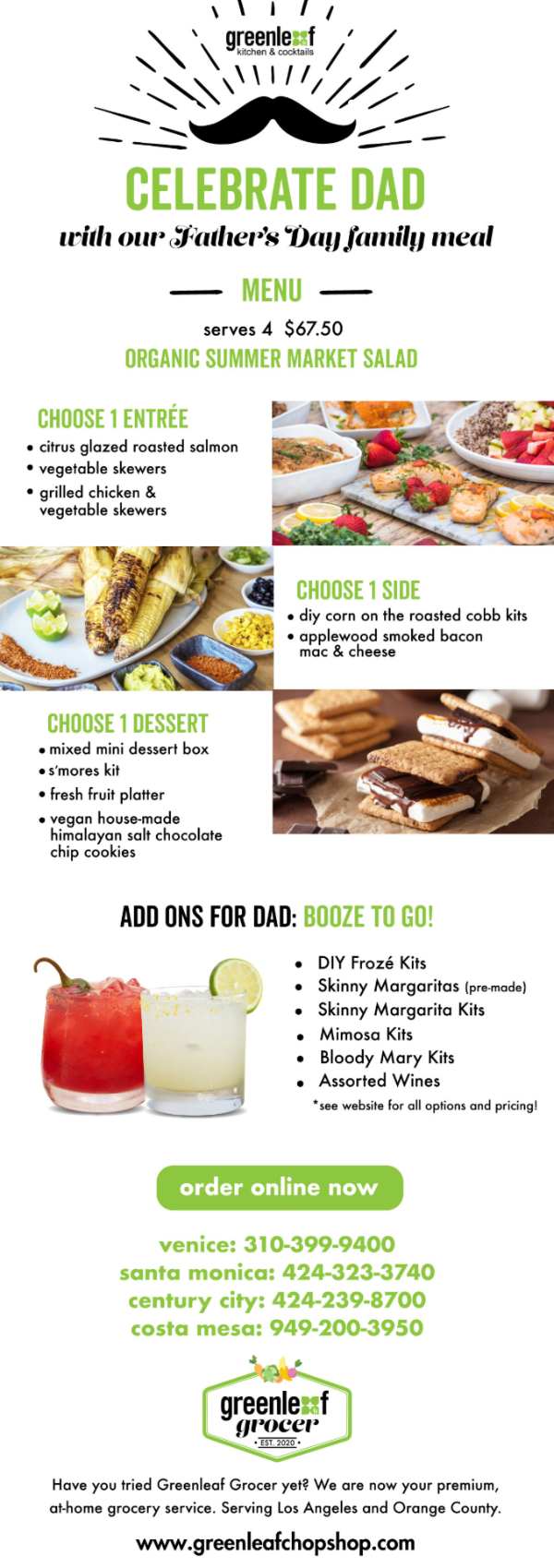 Celebrate With A Father's Day Family Meal