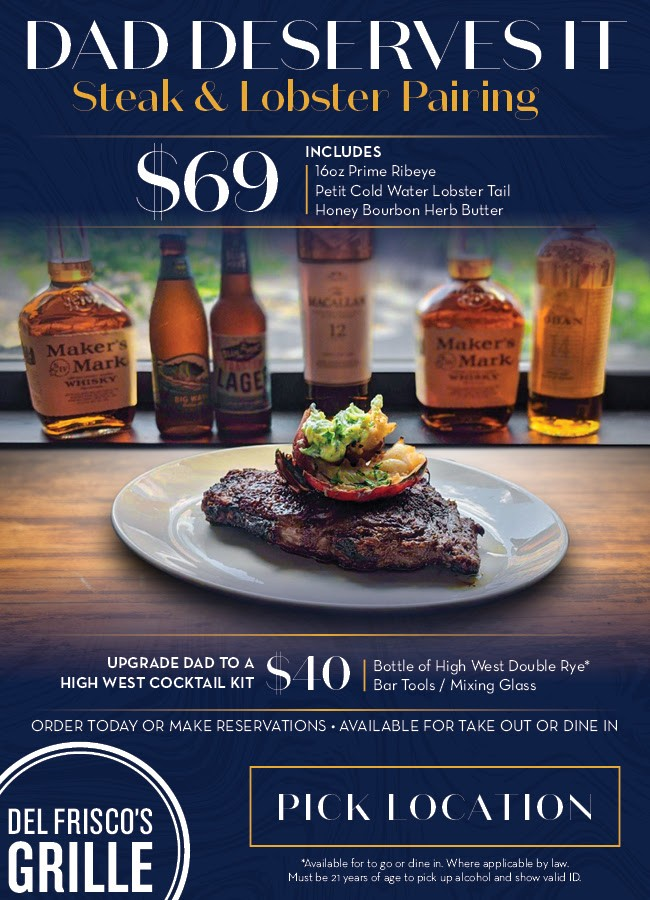 Del Friscos Grille Dads Day