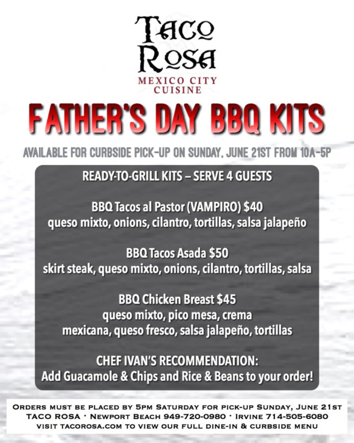 Taco Rosa Father's Day