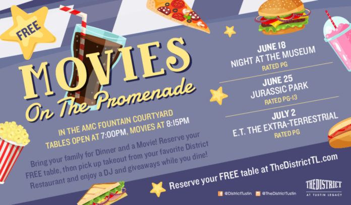 Free Movies At The District