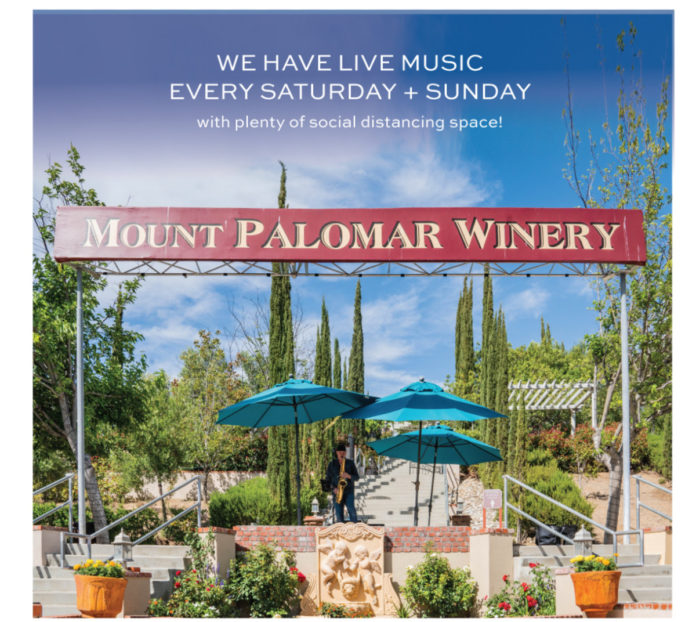 Mount Palomar Winery Patio