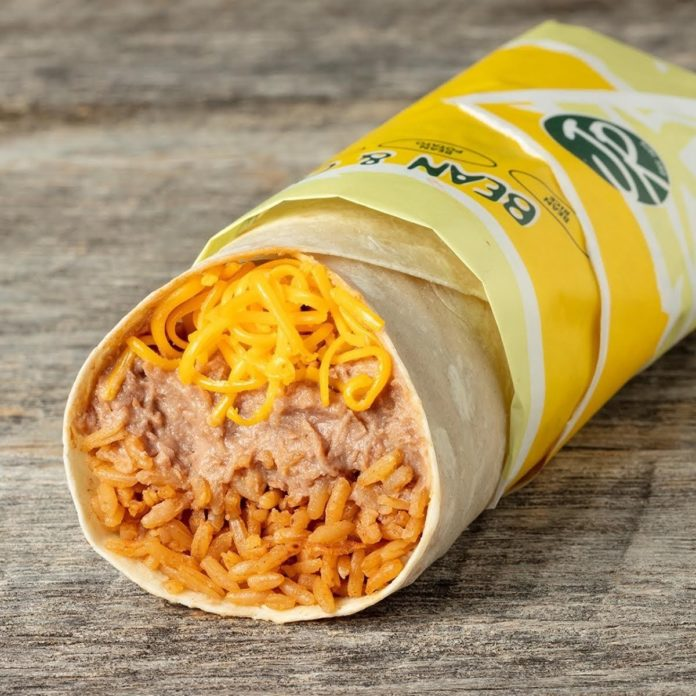 Miguel's Jr Bean Rice And Cheese Burrito