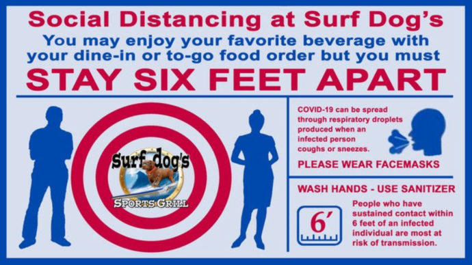 Surf Dog Social Distancing Rules