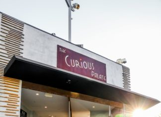 Curious Palate Sign Exterior
