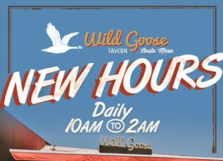 Wild Goose Tavern New Hours