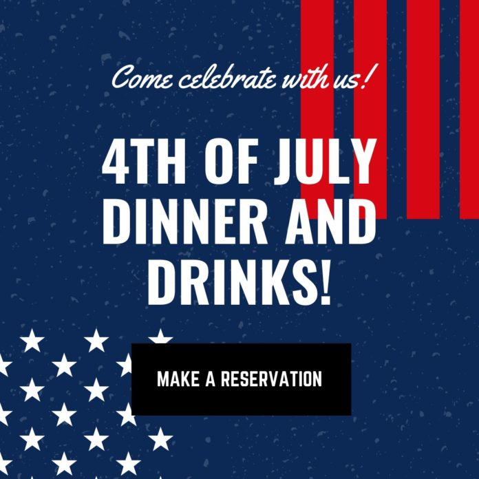 4th Of July Dinner And Drinks