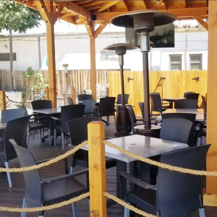 Black Marlin Outside Seating