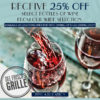 Del Friscos Grille 25%off Wine