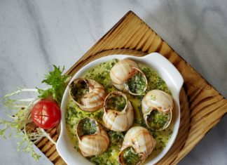 Escargots With Garlic Butter