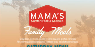 Family Meals Saturday
