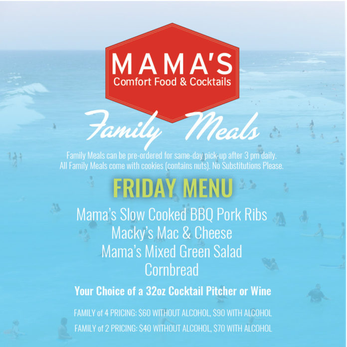 Family Meals Friday