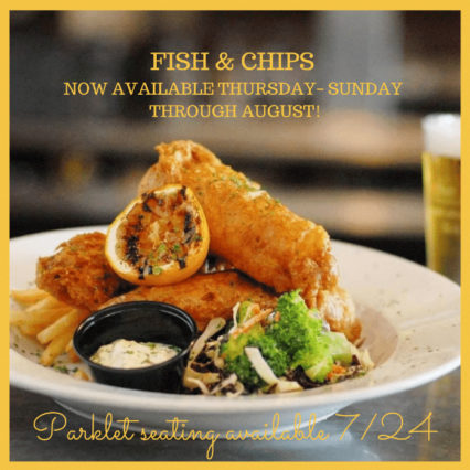 Fish & Chips are here Thursday-Sunday through August! @ Abbey (The) - Seal Beach